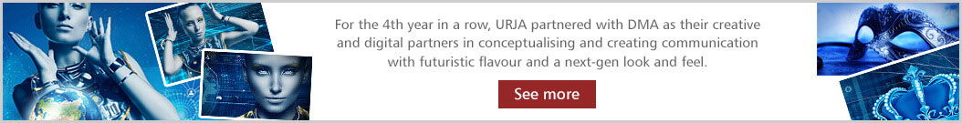Urja as DMA Creative & Digital Partners